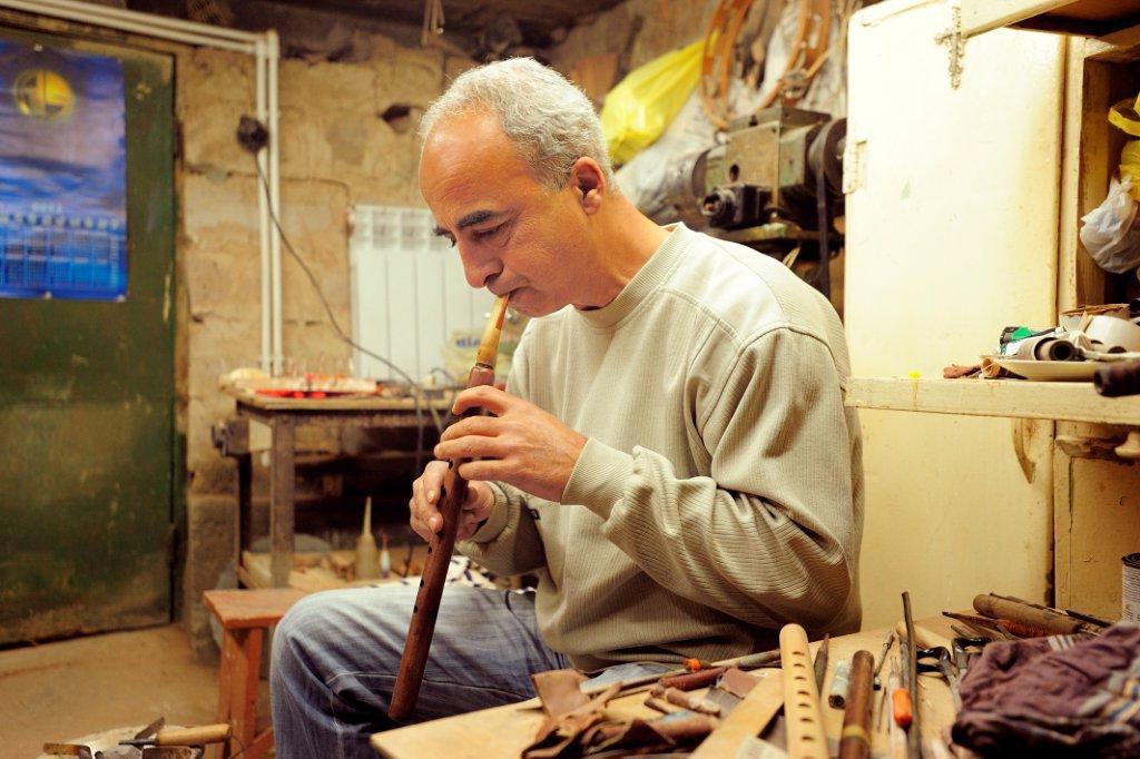 Armenian duduk master