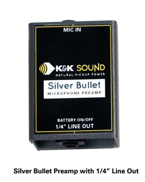 k&k silver bullet מיקרופון