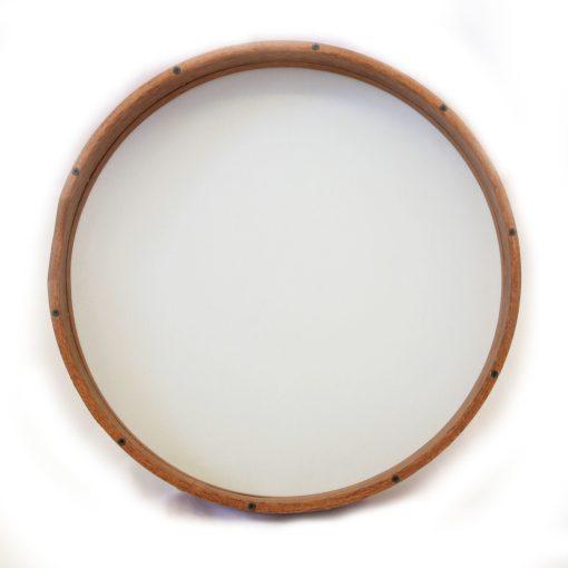 תוף מסגרת מקצועי מעץ מהגוני עם כיוון פנימי