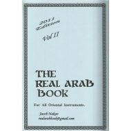 The real arab book אוסף שירים מוזיקה מזרחית קלאיסת